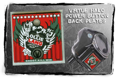 Virtue Ollie Lang Halo/Empire Power Button Backplate