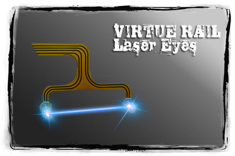 Virtue Proto Matrix Rail Laser Eyes - Blue - Virtue