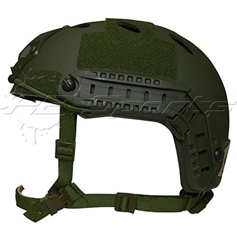 Valken Helmet V Tactical Airsoft/Paintball CQB ATH NVG Shroud Enhanced P-Green - Valken Paintball