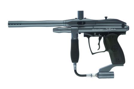 Kingman Spyder Xtra Semi-Auto paintball gun - Blue