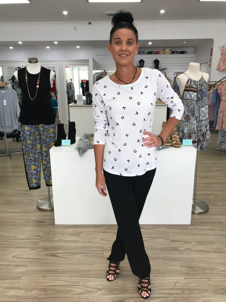 Lustre For Life Relaxed Tee - La Moda
