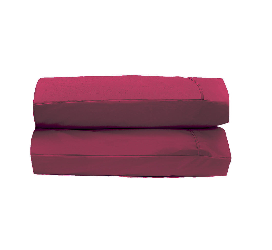 Burgundy Pillowcases