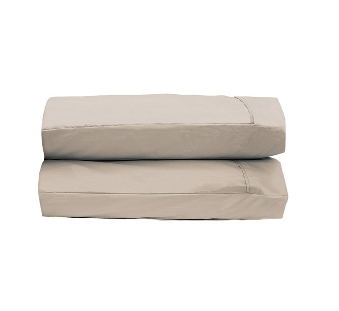 Dark Cream Pillowcases