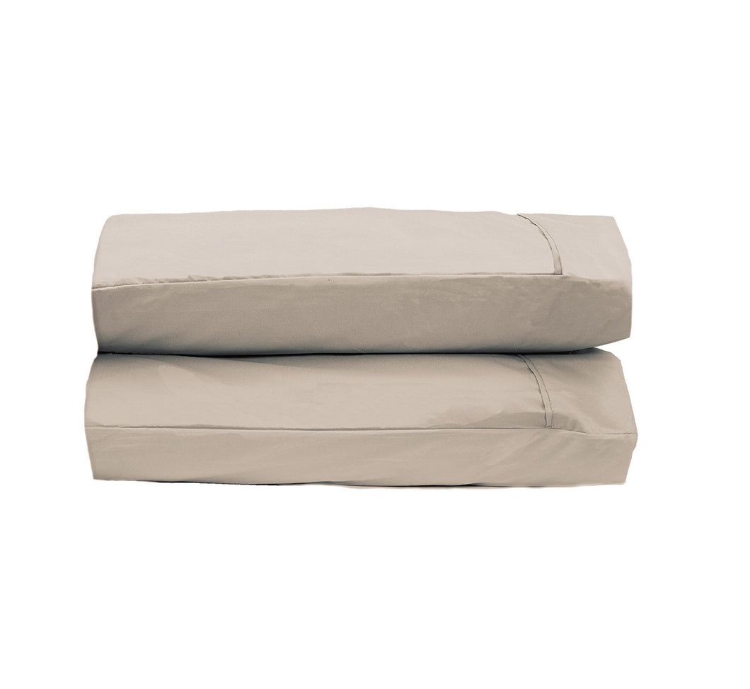 Dark Khaki Pillowcases