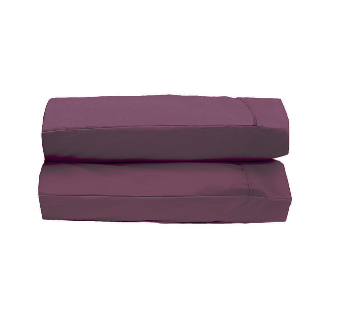 Eggplant Pillowcases