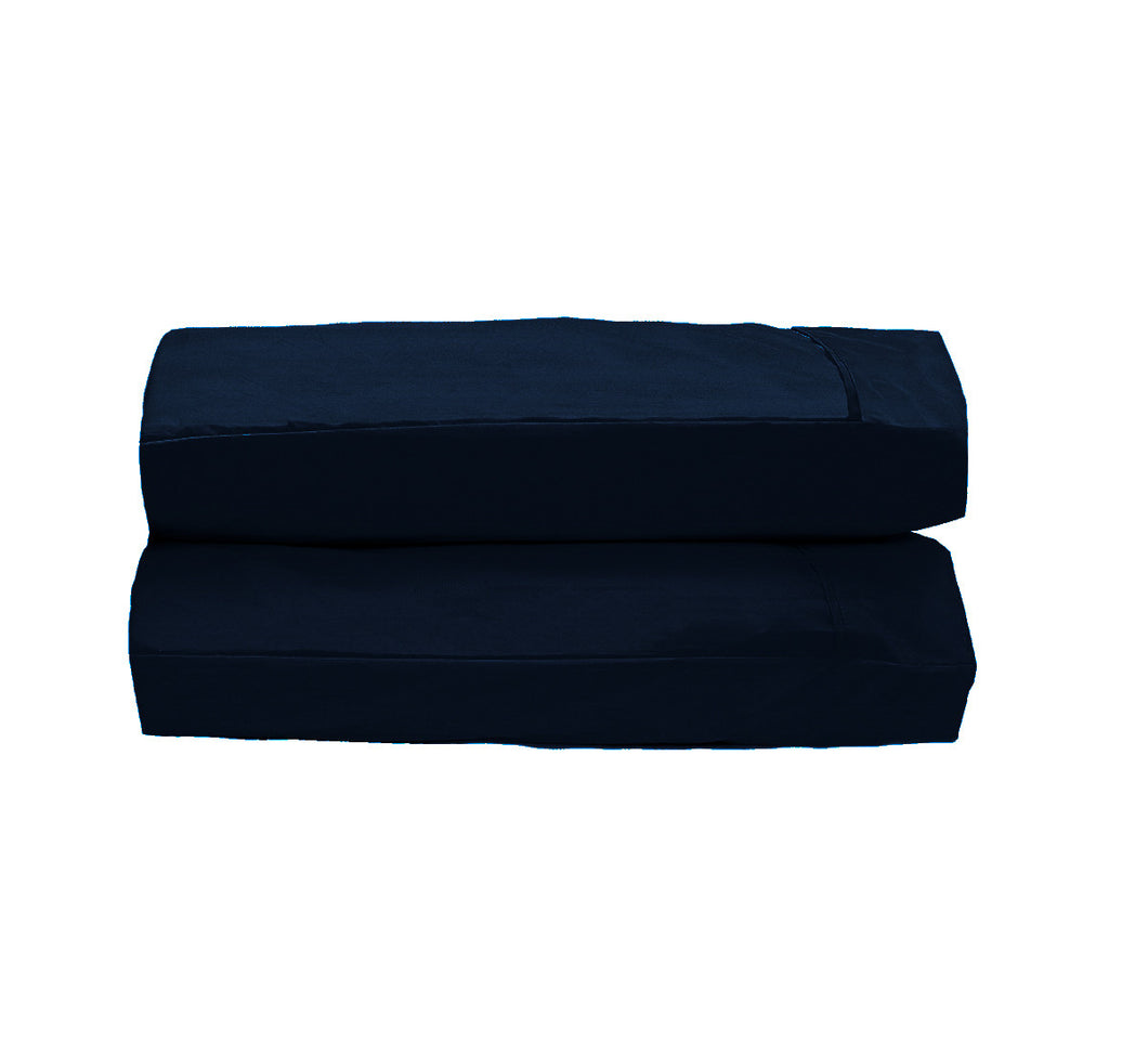 Navy Pillowcases