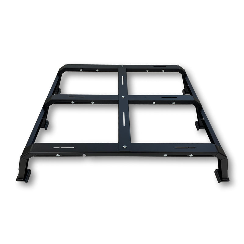 RCI Offroad - 12″ Adjustable Bed Rack, 6ft+ Truck Bed