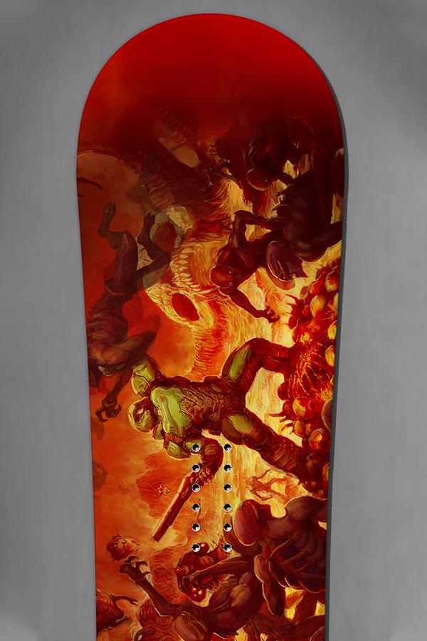 Limited Edition - Doom Snowboard by Never Summer Industries