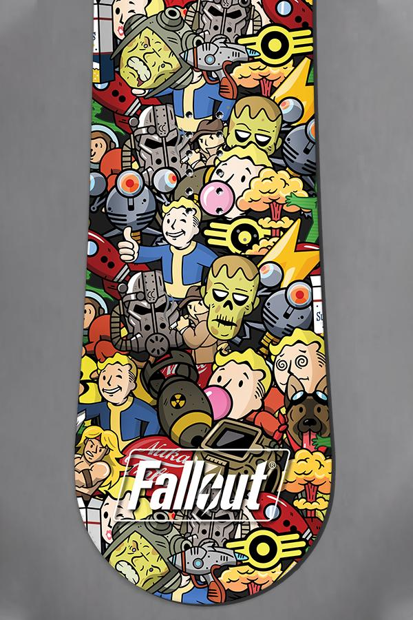 Limited Edition- Fallout Emoji Snowboard by Never Summer Industries