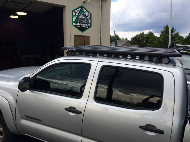 Toyota Tacoma Double Cab Backbone and Pioneer roof rack, Rhino Rack