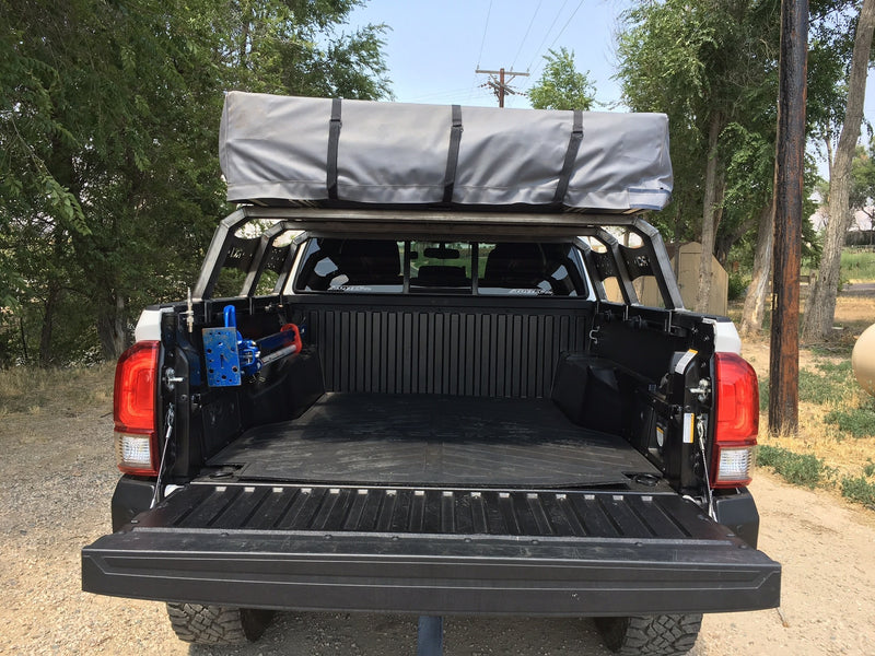 RCI Offroad - 12″ Adjustable Bed Rack, 5ft Truck Bed