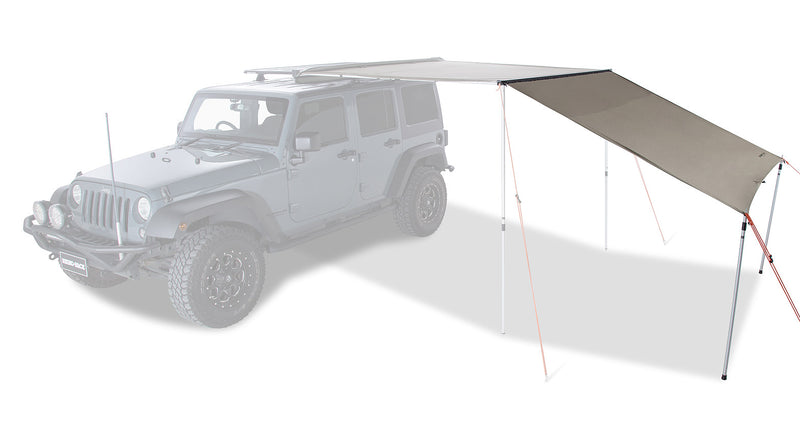 Rhino Rack Sunseeker and Batwing 8ft Awning Extension
