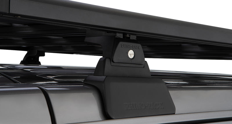 Rhino Rack Backbone and Pioneer Platform for Jeep Wrangler JL 4 dr w/Quick Mount Legs - Complete System Offroad Roof Rack
