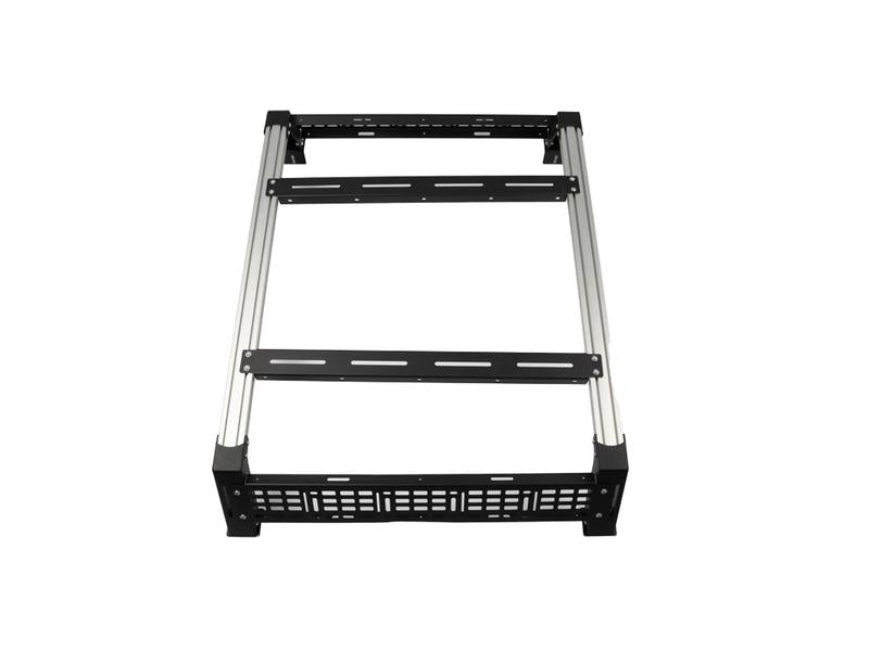 Cali Raised LED Overland Bed Rack for Toyota Tundra 2014- Current w/Deck Rail System