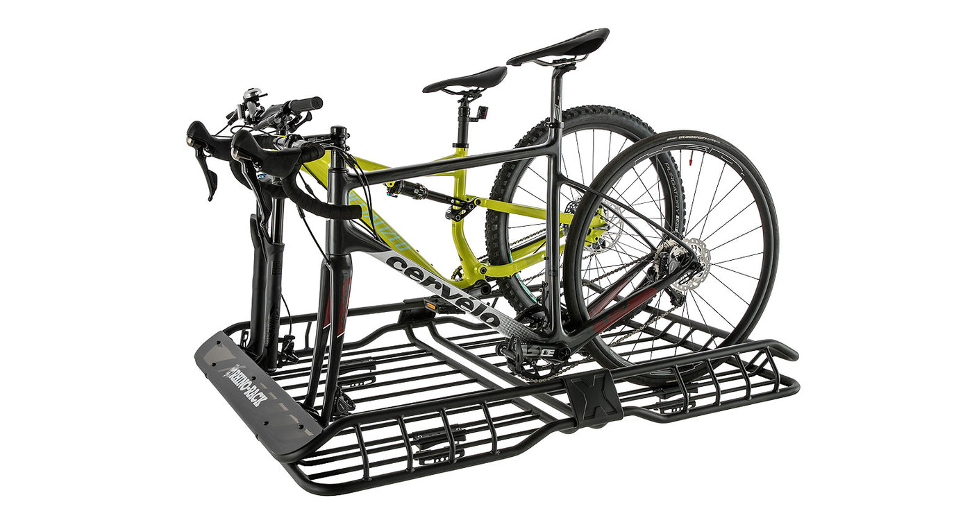 Rhino Rack XTray Pro - Roof Basket w/Bike Mounts