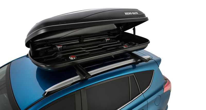 Rhino Rack MasterFit Roof Cargo Box 440L (Black) RMFT440