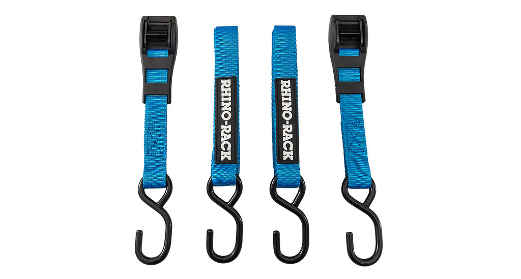 Rhino Rack RTDH3 TIE DOWN STRAP WITH HOOK (X2)