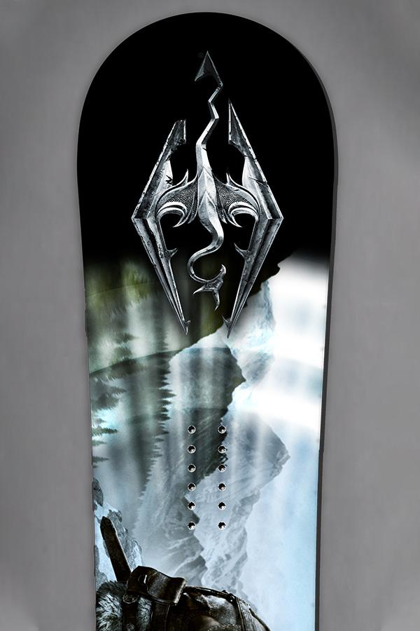 Limited Edition - Skyrim Snowboard by Never Summer Industries