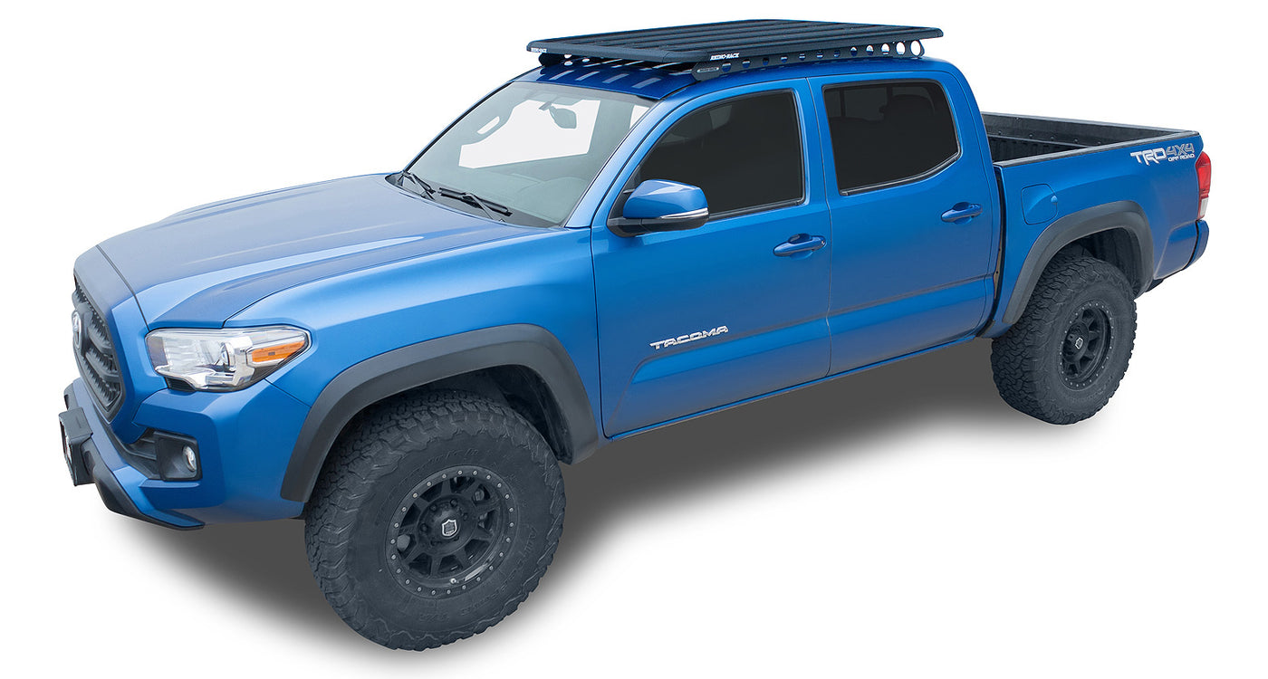 Toyota Tacoma Roof Rack Double Cab >> Pioneer Platform 60 X 49 Unassembled And Backbone For Toyota Tacoma Double Cab 2005 2018