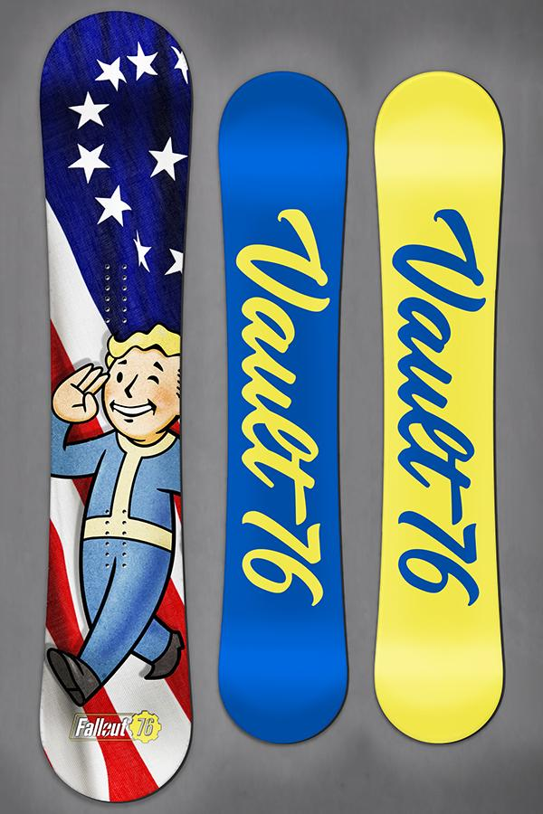 Limited Edition- Vault Boy Snowboard by Never Summer Industries