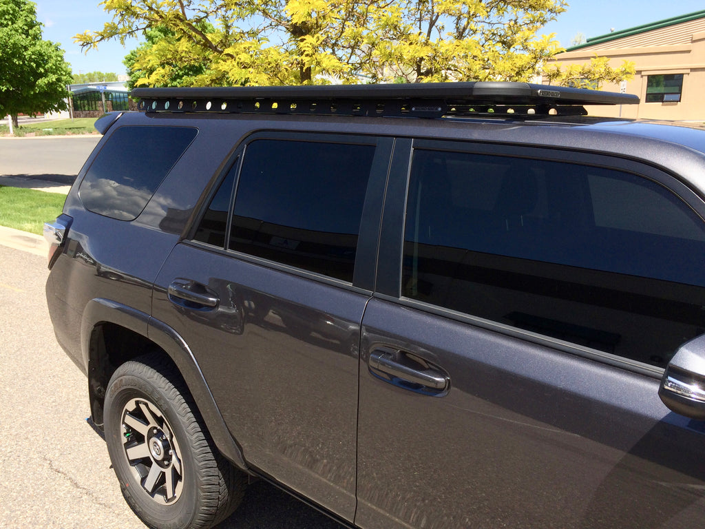 Rhino Rack Pioneer and Backbone Toyota 4runner, 3/4 Length Roof Rack