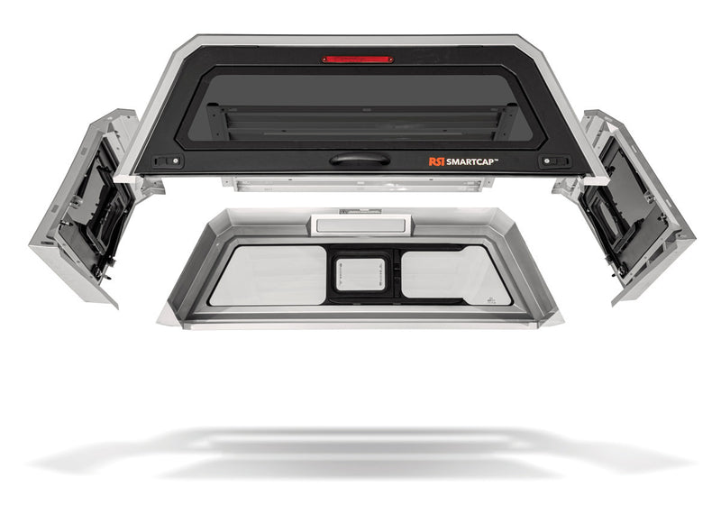 RSI Smart Canopy For Ford F-150 2009-2021 5.5' Bed - Smartcap Evo Leisure Series