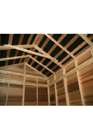 cedarshed 7' High Wall Shed Kit Option