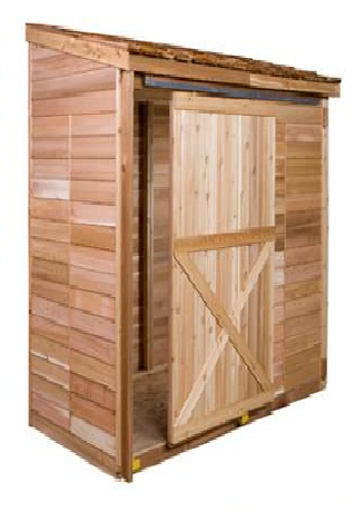 cedarshed Double Door with Frame Option