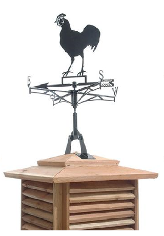 cedarshed Rooster Weathervane