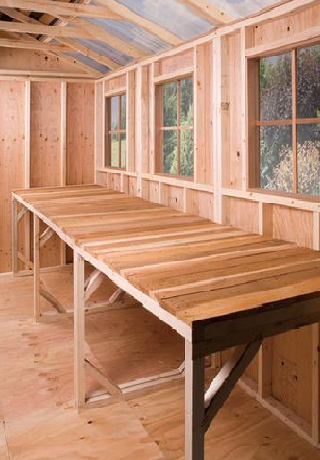 cedarshed Cedar Wood Bench for Sheds