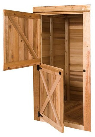 cedarshed Dutch Door Option
