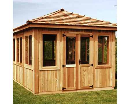 Cedarshed Spa Gazebo Kits & Cedar Hot Tub Enclosures
