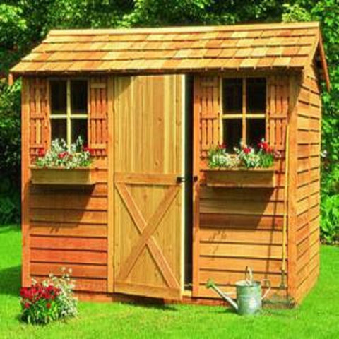 Cedarshed Backyard Pool Cabana Multipurpose Shed