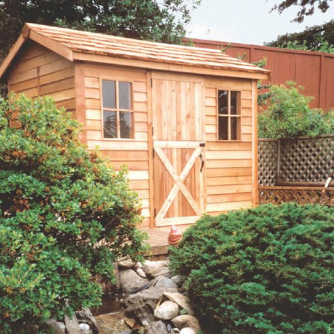 Cedarshed Industries Backyard Pool Cabanas Multipurpose Prefab Shed