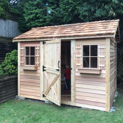 Cedarshed Backyard Cabanas Multipurpose Shed