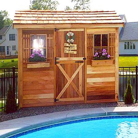 Cedarshed Backyard Cabanas Multipurpose Prehab Shed
