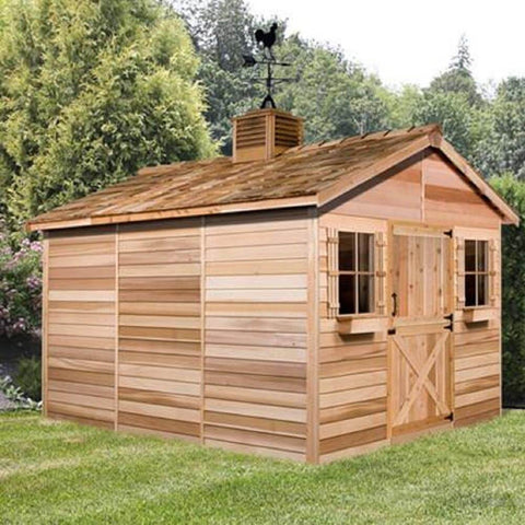 Cedarshed Cedar House Living Kit Storage Shed Clubhouse