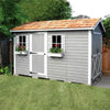 Image of Cedarshed Gable Style Boathouse Canoe & Kayak Storage Shed Kit