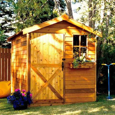Cedarshed Gable Style Gardener Little Shed Kit Storage Solution