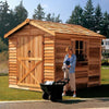 Image of Cedarshed Large Rancher Shed Kit Storage Solution