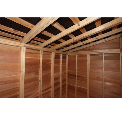 Cedarshed Lean to Shed Storage Prefab Studio Shed Kit