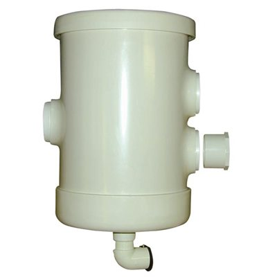 "Coburn Pre-Filter with 1-4"" & 2-3"" Openings with Stainless Steel Filter"