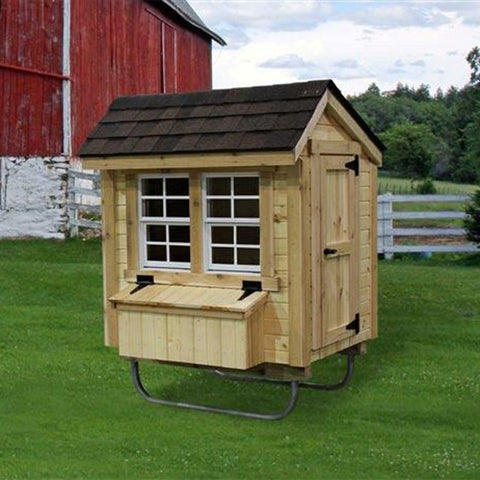 EZ-Fit Sheds Chicken Coop 3' x 4' -DIY Kit