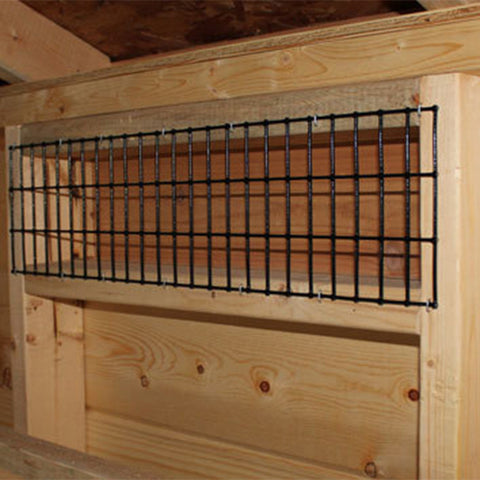 EZ-Fit Chicken Coop Run 4' x 6' -DIY Chicken Pen Kit Predator Prevention