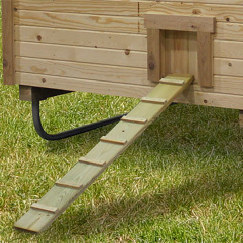 EZ-Fit Sheds Chicken Coop 3' x 4' -DIY Kit Ramp