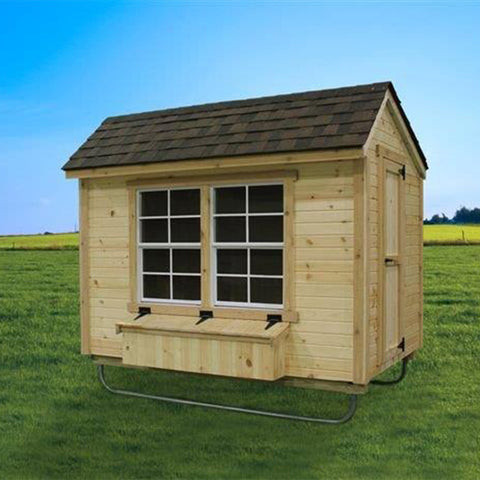 EZ-Fit Chicken Coop Run 5' x 8' -DIY Chicken Pen Kit