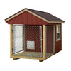 Image of EZ Fit Sheds Indoor Outdoor Dog Kennel for medium dogs