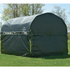 Image of ShelterLogic Corral Shelter Green Enclosure Kit - (1) End Panel and (3) Side Panels