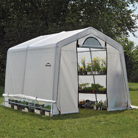 ShelterLogic GrowIT Greenhouse-In-A-Box with Easy-Flow Vents 10 X 10 X 8 Ft.