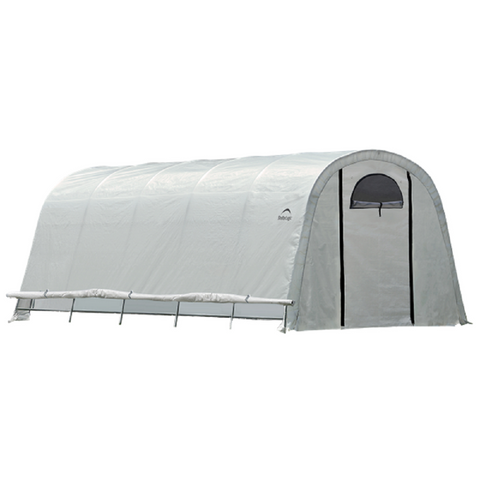 ShelterLogic GrowIT Heavy Duty Round Greenhouse 12 X 20 X 8 Ft.